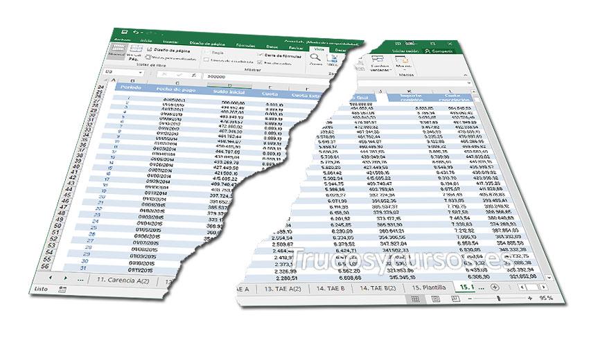 Restaurar valores predeterminados en Excel