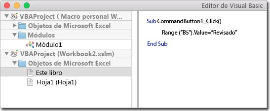 Macros de Windows en Mac