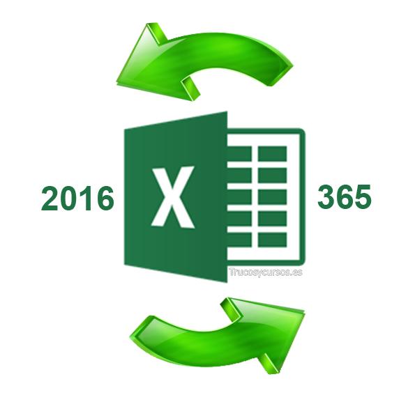 Características y mejoras añadidas, en actualizaciones Excel 2016