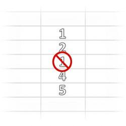 Evitar insertar valores repetidos en una columna Excel