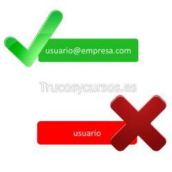 Validar una dirección de correo (email) en una celda Excel