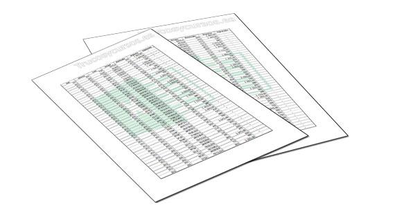 Marca de agua, imagen de fondo para imprimirla en Excel