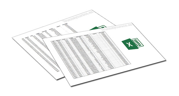 Imprimir con bordes en las páginas Excel