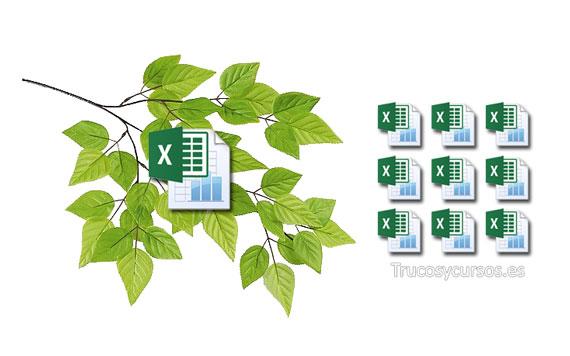 Copiar varias hojas de Excel a la vez