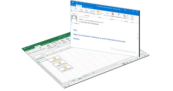 Hipervínculo a un correo electrónico existente en Excel