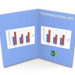 Esquinas redondeadas en los gráficos Excel