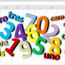 Convertir el valor de número en texto, para euros en Excel