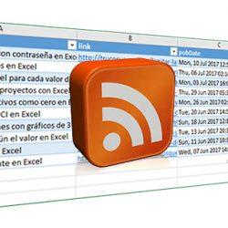 Importar los datos RSS en Excel