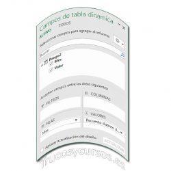 Contar elementos únicos en tabla dinámica Excel