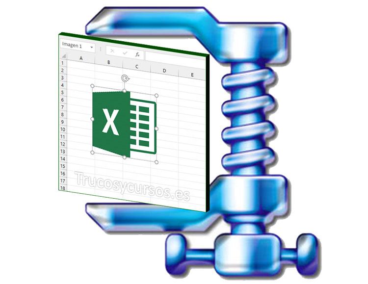 Reducir el peso de los libros Excel con imágenes