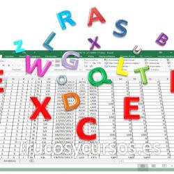Revisión ortográfica Excel, resaltar celdas con palabras mal escritas