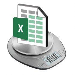 Reducir el tamaño de tablas dinámicas Excel