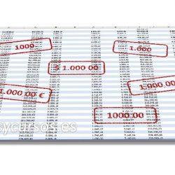 Aplicar formato de número a la hoja Excel