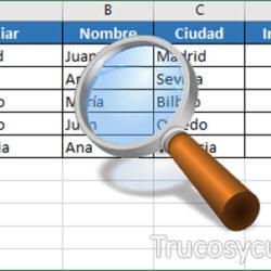 BUSCARV (VLOOKUP) con varios criterios en Excel