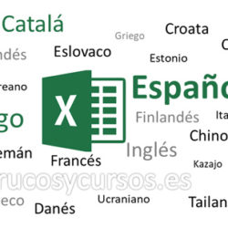Traductor de funciones Excel en 33 idiomas
