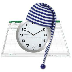 3 métodos para calcular horas nocturnas en Excel