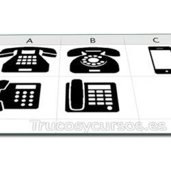 Unificar números de teléfono en Excel