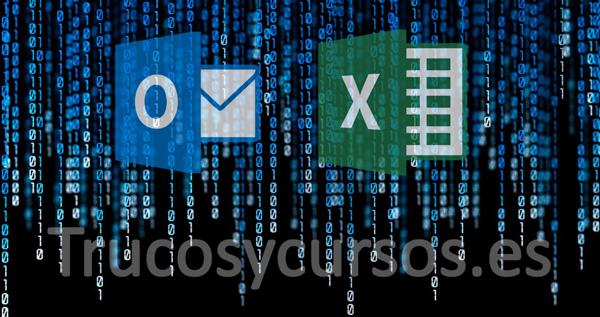 Envío de correos Excel firmados/cifrados en Outlook