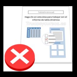 Error en los totales de las tabla dinámica Excel