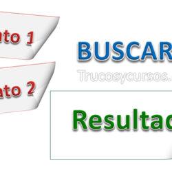 BuscarV con dos criterios de búsqueda en Excel