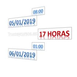 Calcular las horas entre 2 fechas en Excel