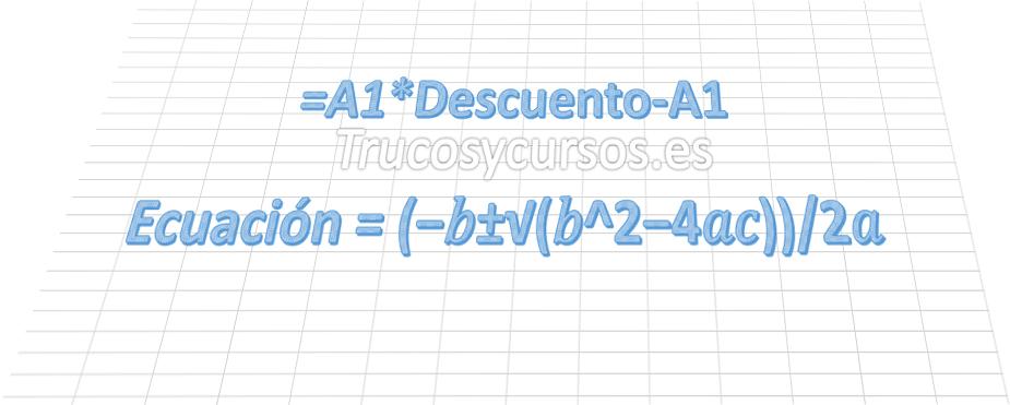 Aplicar nombre a las fórmulas en Excel