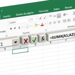 Todos los métodos para insertar una función en Excel