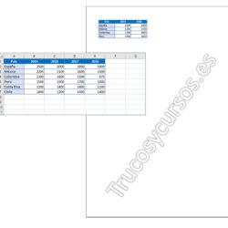 Modificar los saltos de página en Excel