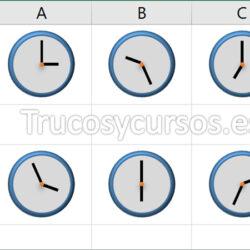 Calcular el promedio Excel de las horas en minutos y segundos
