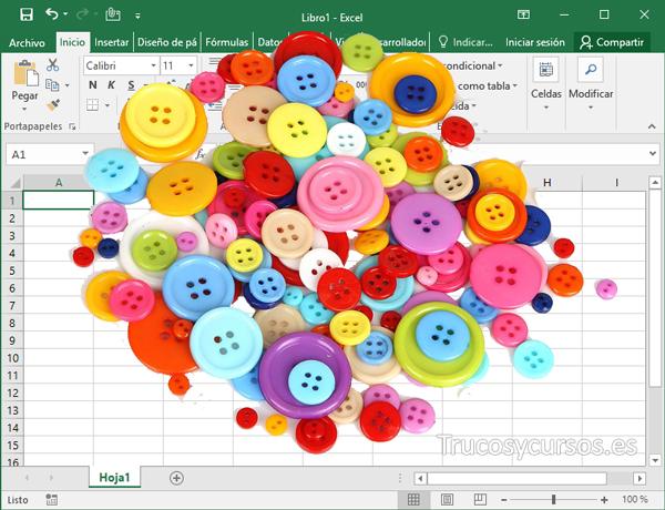 Mostrar y ocultar las hojas deseadas con botones en Excel