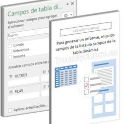 Crear una Tabla Dinámica con macro en Excel