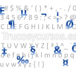 Los caracteres no imprimibles en Excel