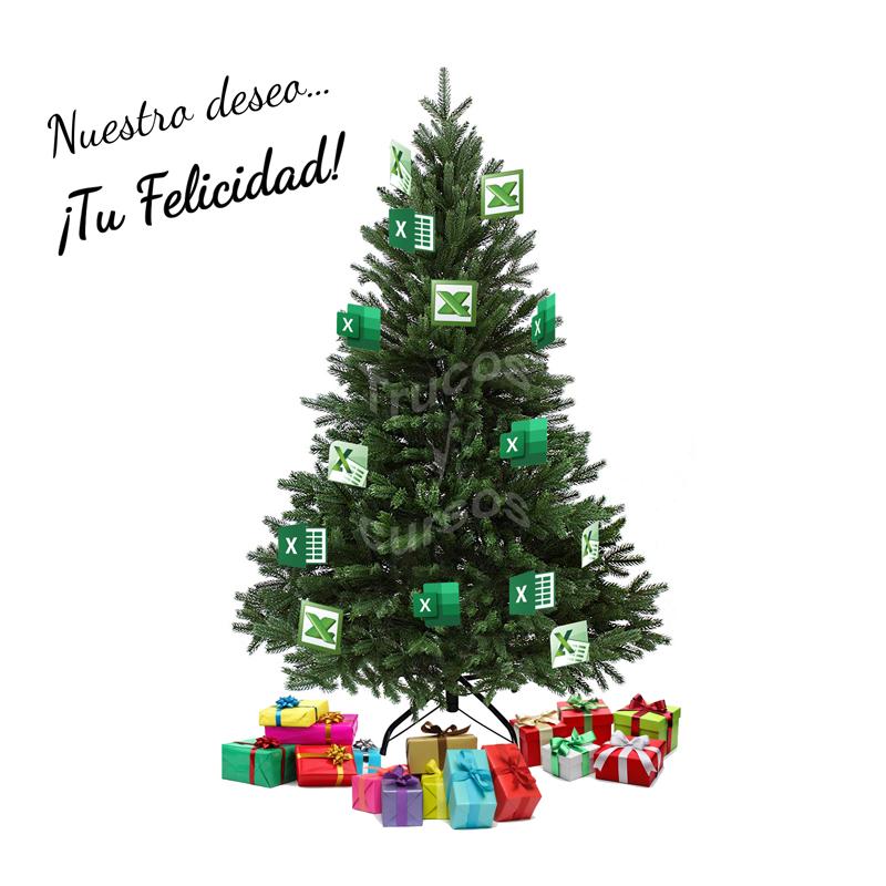 Desde Trucos y Cursos de Excel te deseamos Feliz Navidad y Feliz año 2020