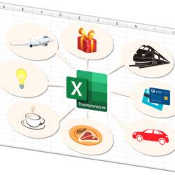 Plantilla de hoja de gastos en Excel