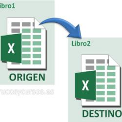 Importar datos de un libro a otro libro Excel