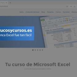 Captura de pantalla en Excel