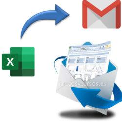Enviar correo electrónico desde la cuenta gmail con Excel