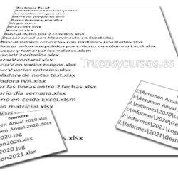 Lista de archivos en VBA Excel