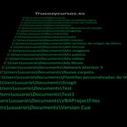Lista de carpetas y subcarpetas en VBA Excel