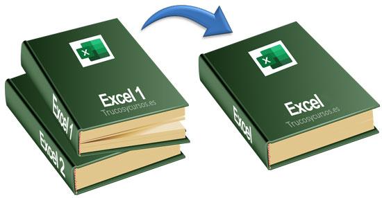 Combinar varios libros Excel en un único libro