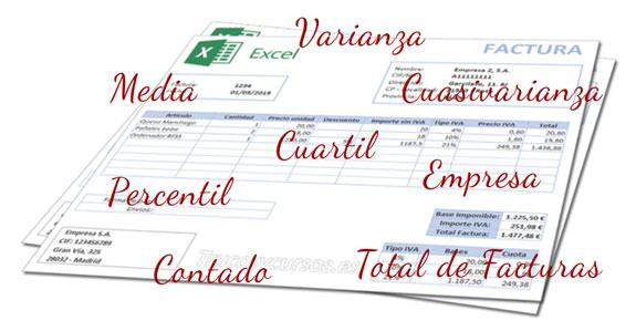 Plantilla informes de facturas emitidas en Excel (V)