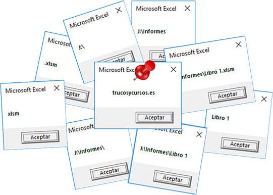 Todos los métodos VBA path para la ruta en Excel