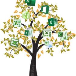 Crear un diagrama de árbol en Excel
