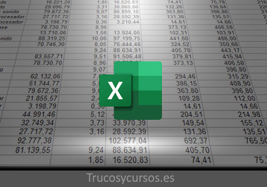 Todos los métodos para contar celdas vacías y con datos en Excel