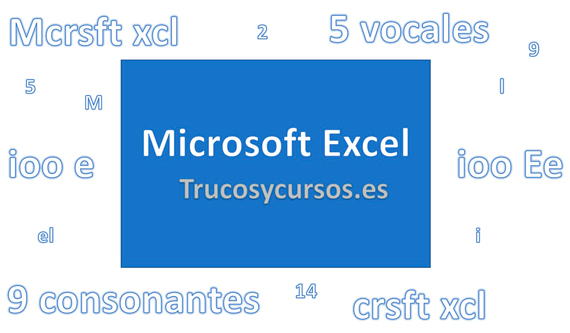 Contar y extraer caracteres en Excel
